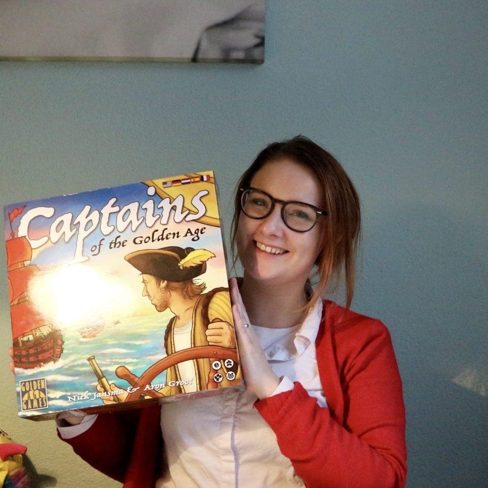 Captains of the Golden age review strategisch bordspel