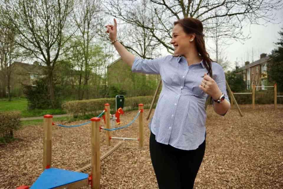 April 2018 Stijlvol zwanger in de positiekleding van GeBe Maternity momambition.nl