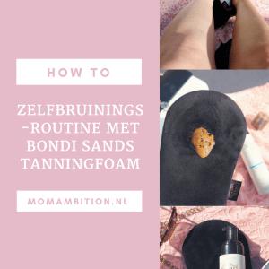 How to: zelfbruinroutine met Bondi Sands Tanning Foam