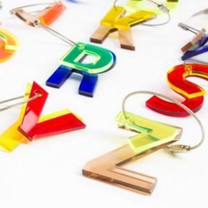 ABC Key Cains