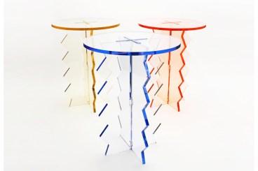 'fringe' side tables