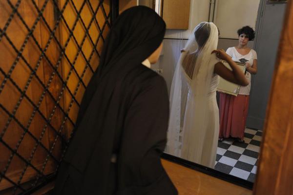 Vestiti da sposa di santa rita