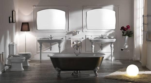 Arredamento per un bagno moderno