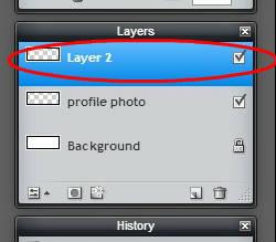 Pixlr tutorial: layer 2