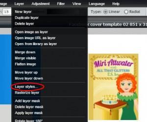 Pixlr tutorial: layer styles