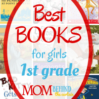 Best Books for Girls in 1st Grade - my daughters' 7 favorite kids books