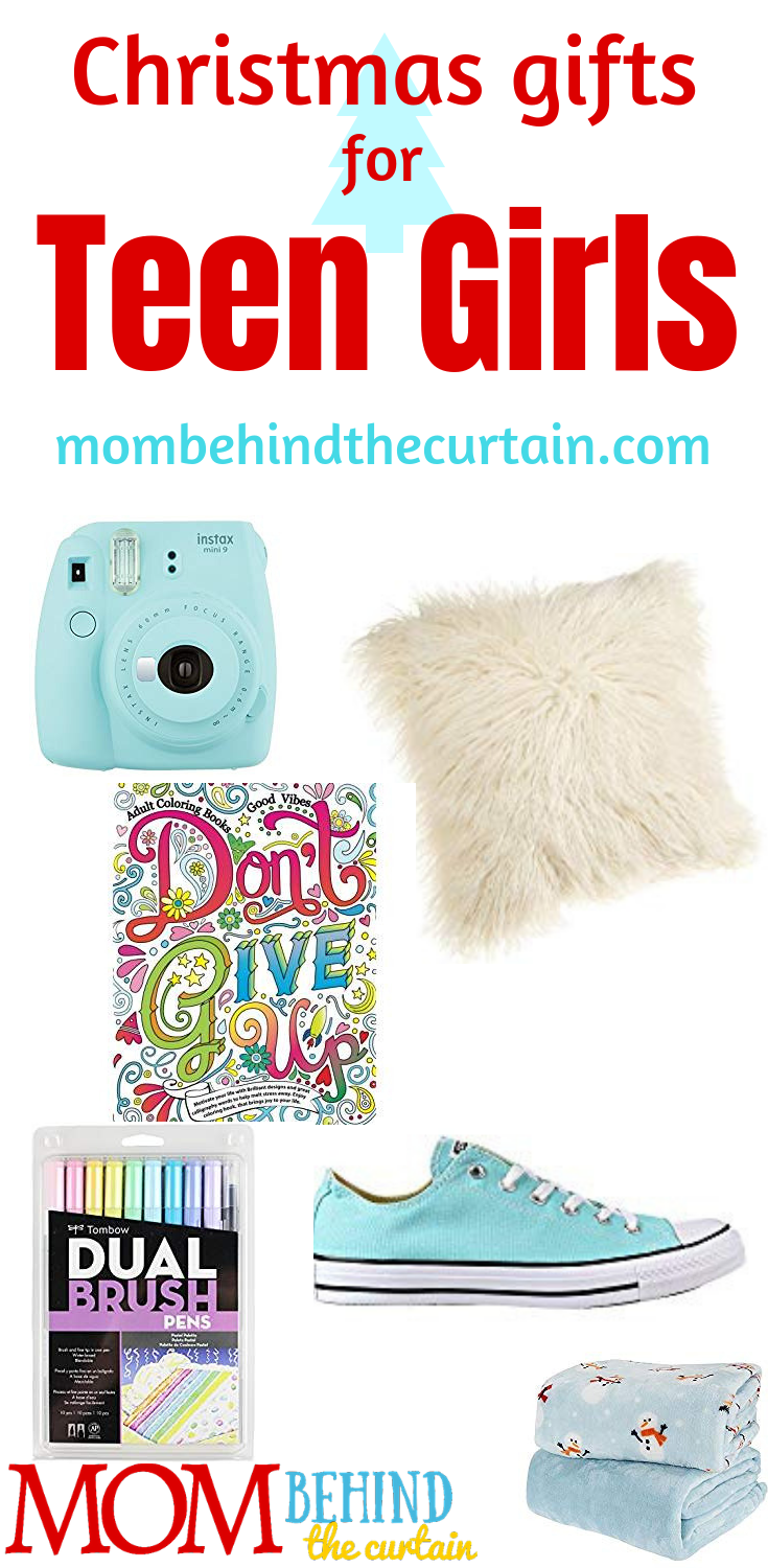 A list of the best teen girl Christmas gift ideas - Gifts I've given my own teen girls that they love and actually USE! #teengirl #christmasgifts