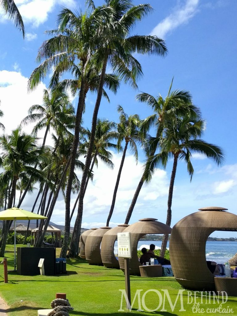 Hyatt Regency Maui beach rental - timeshare cabana