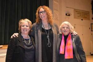 Edie's attorney Roberta Kaplan; comedian Judy Gold; Edie Windsor