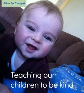 teaching children kindness