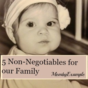 5 non negotiables