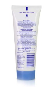 Johnson's Baby Milk Cream