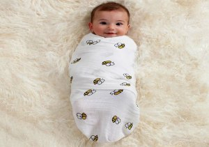 Swaddle Baby with Blanket