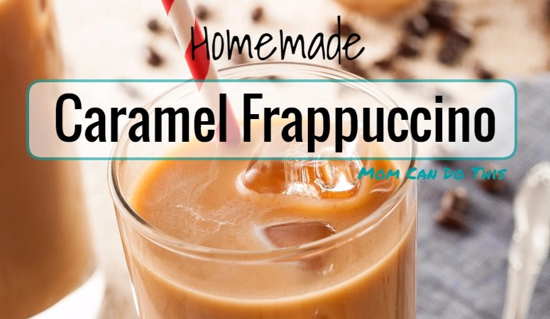 How to make Delicious Homemade Caramel Frappuccino