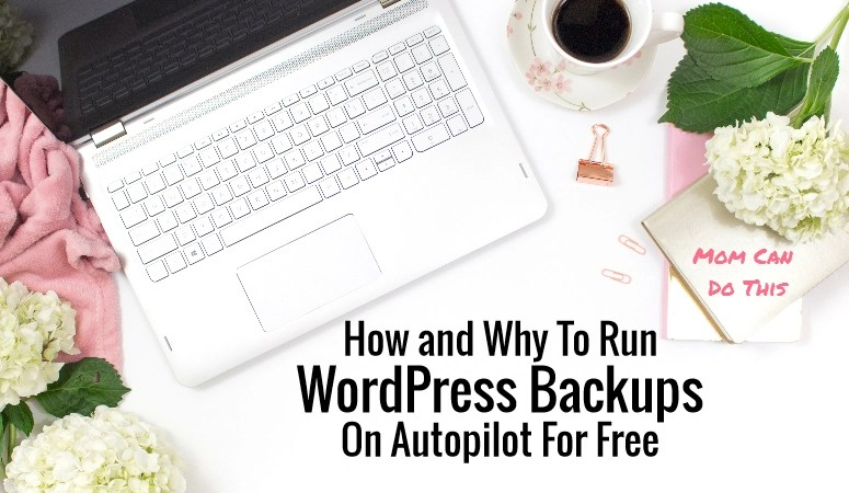 How to backup WordPress for free
