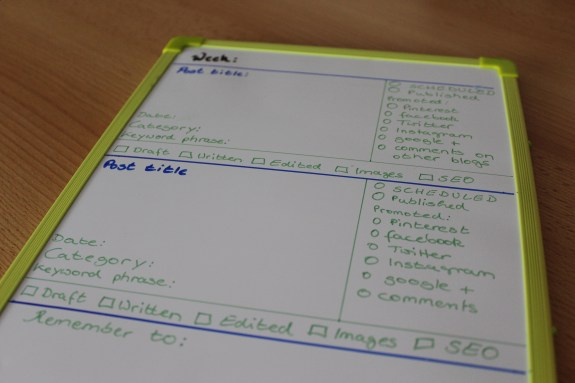 finished whiteboard post planner