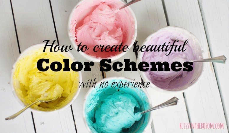 How to come up with a beautiful color scheme – if you don't know where to start
