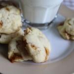 caramel nut drop cookies