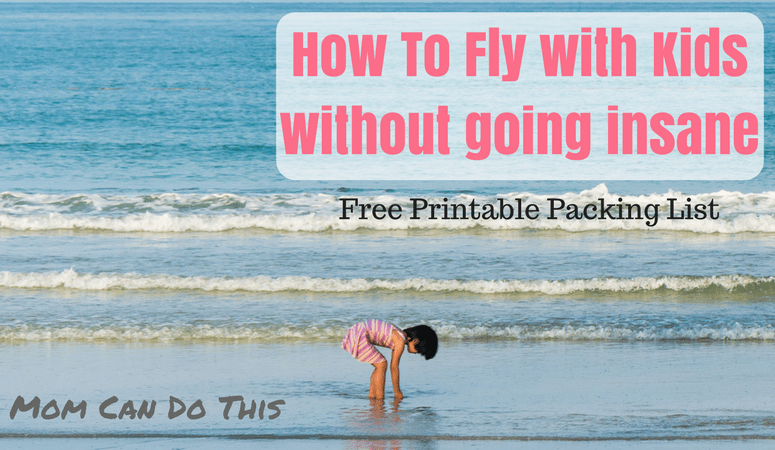 How to fly relaxed with kids without going insane