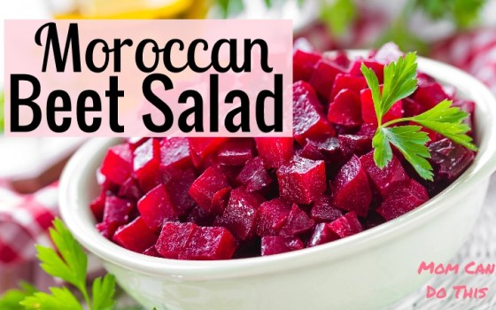 How To Make Traditional Moroccan Beet Salad