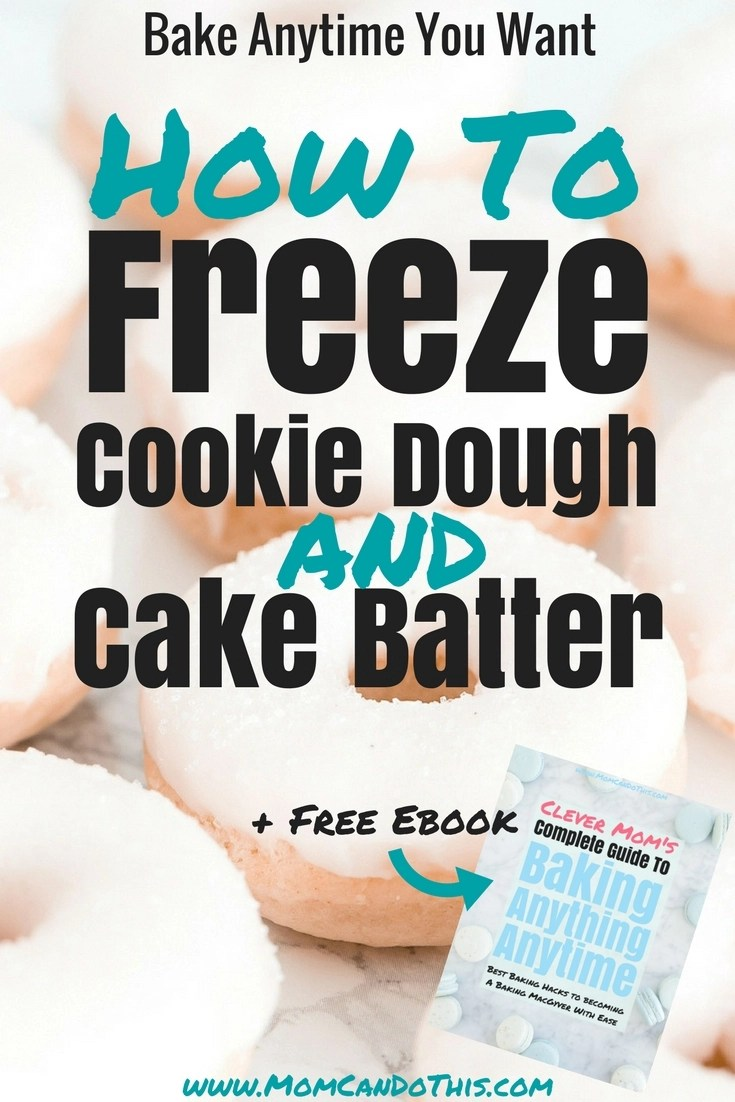 Best Freezer Baking Tips: How to freeze dough and batter so that your baking goods don't lose flavor! How to freeze cookie dough to bake anytime, freeze cake batter and yeast dough. Plus a Free ebook in the insider-only resource library.
