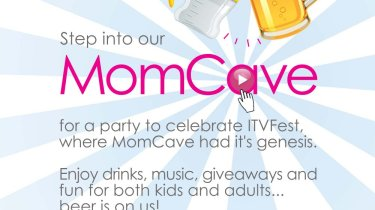 ITVFest ITV Fest MomCave Party Invite Family Kids Filmmakers