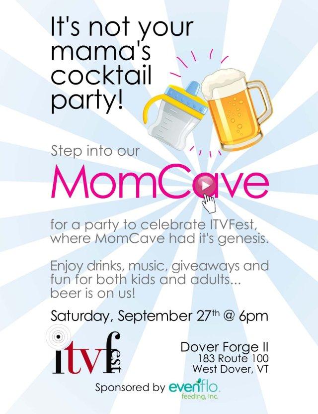 ITVFest ITV Fest MomCave Party Invite Family Kids Filmmakers