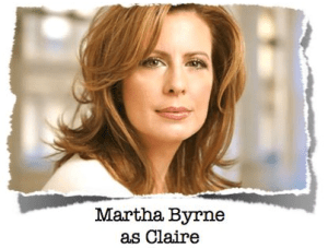 martha byrne as the world turns weight the series as claire