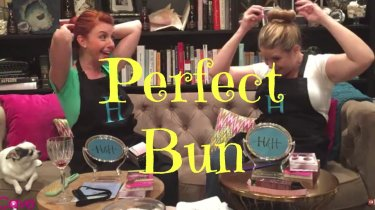 Remington perfect Bun review and tutorial hobbs and hayworth momcavetv