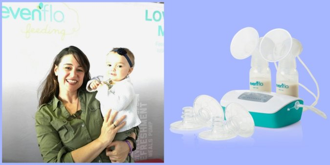 Evenflo Feeding Breastpump MomCave New York Baby Show