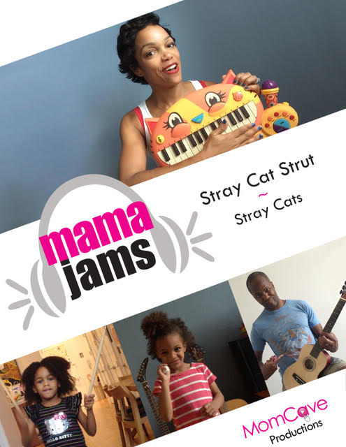 Family Music Video Stray Cat Strut MomCave