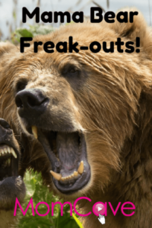 Mama Bear Freak outs MomCave