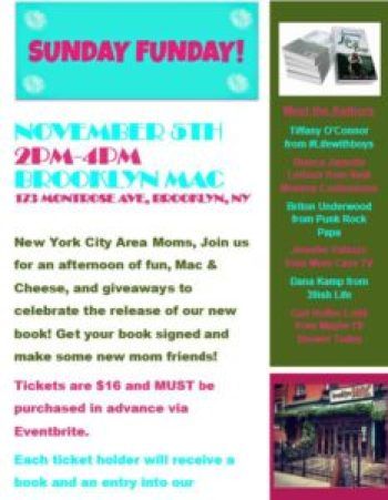 NYC Area Life with Boys Book Event