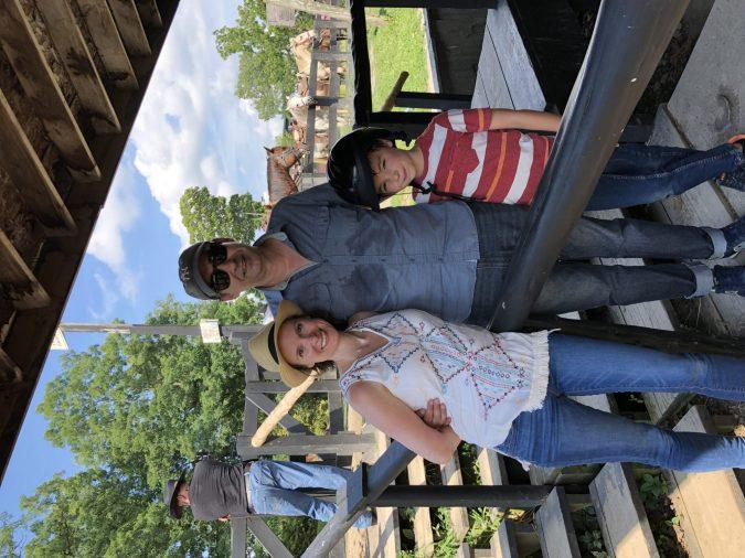 family horse ride training horses is like raising kids