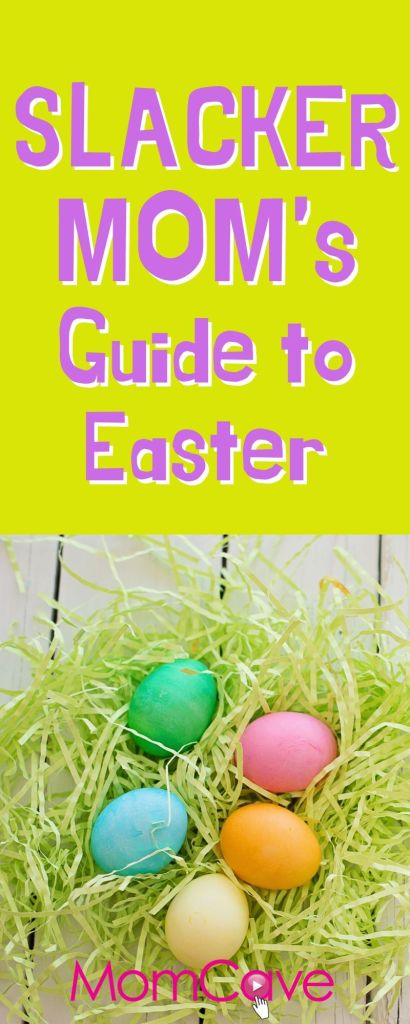 Easter Hacks for Parents, picture of easter eggs from MomCaveTV
