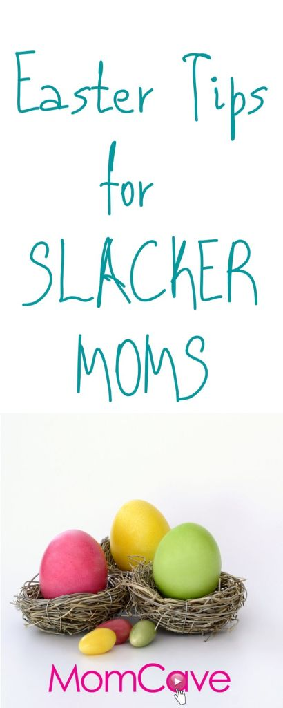 Easter tips for Slacker Moms Easter Egg Nest from MomCaveTV