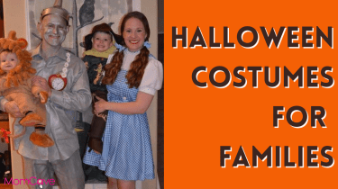 Halloween Costumes for Families MomCaveTV Family Costume Wizard of Oz
