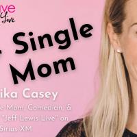 "Monika Casey ""C Plus Single Mom"" | MomCave LIVE"
