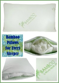Sleep Better with Bamboo Pillows by Relax Home Life #