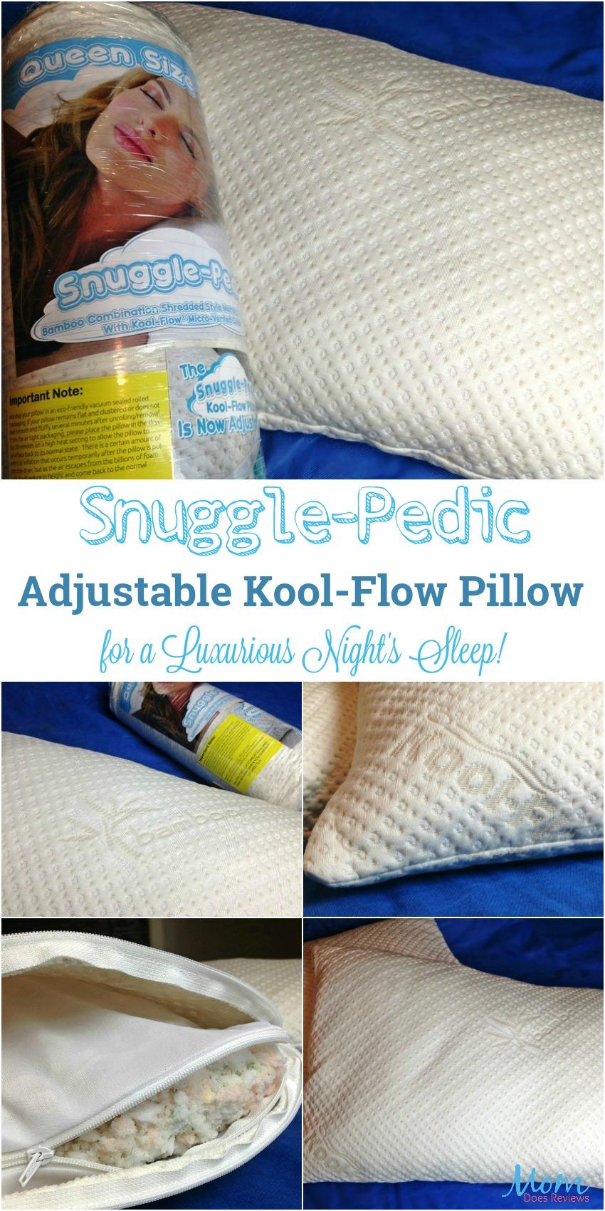 snuggle pedic adjustable kool flow