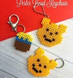 winnie the pooh perler bead keychain craft diy winniethepooh [ 845 x 1127 Pixel ]