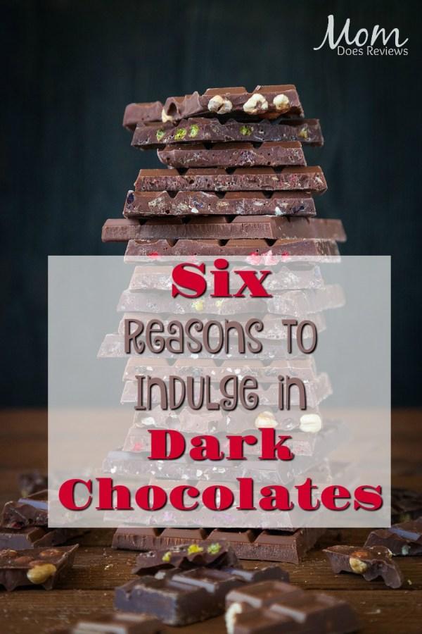 Six Reasons Indulge In Dark Chocolates