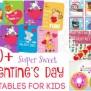 40 Super Sweet Valentine S Day Printables For Kids Mom