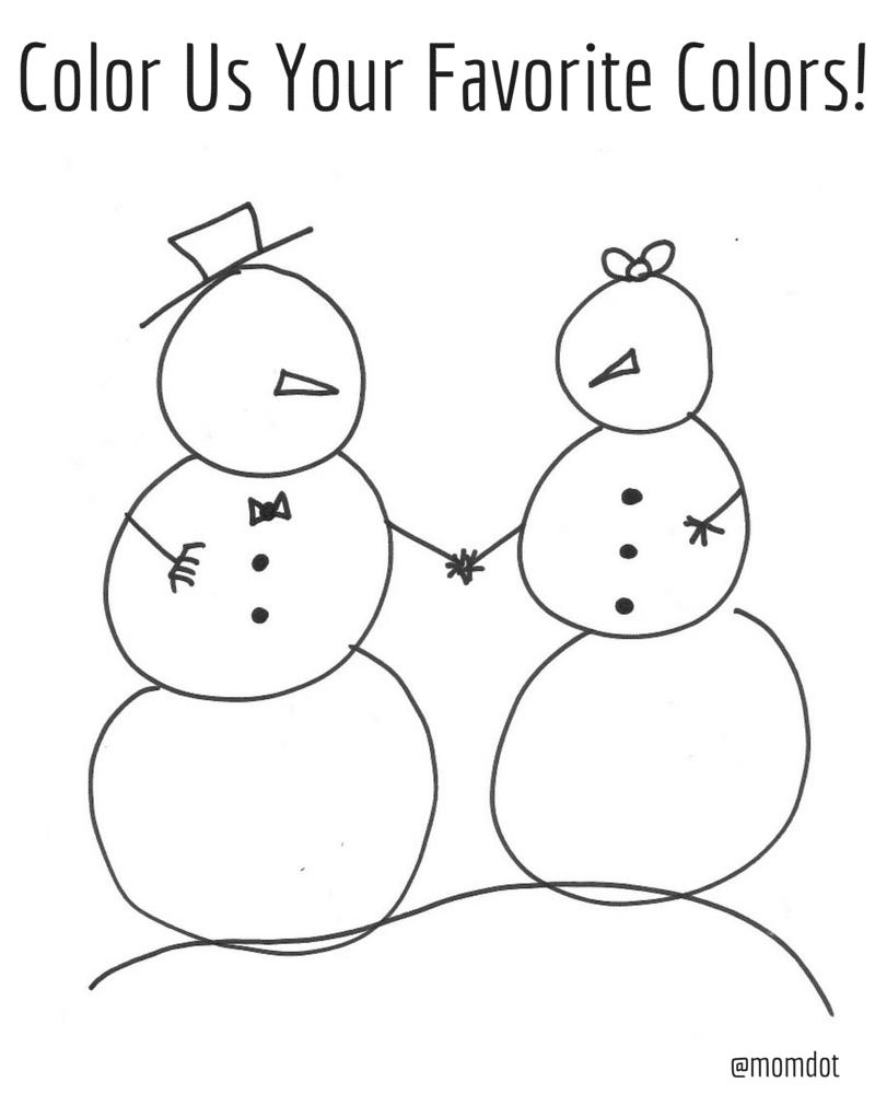 Snowman Printables : 4 Activity Sheets