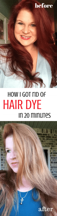 Does OOPS Hair Color Remover Work Of Hair Color Remover ...