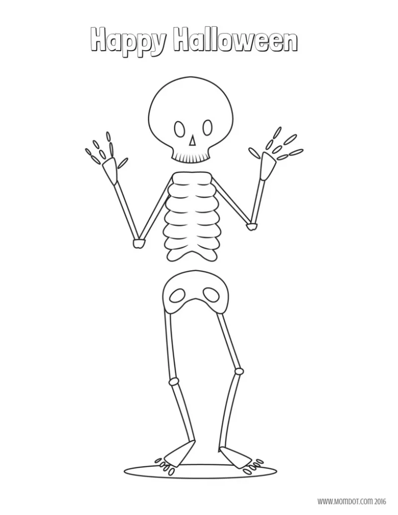 Free Halloween coloring sheets (printables) for kids