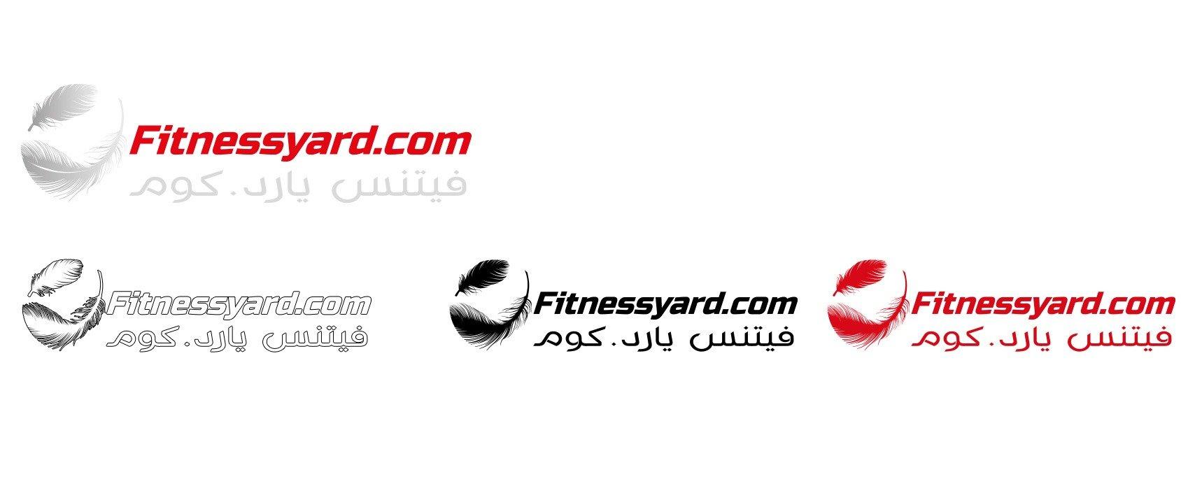 fitnessyard logo colors variations