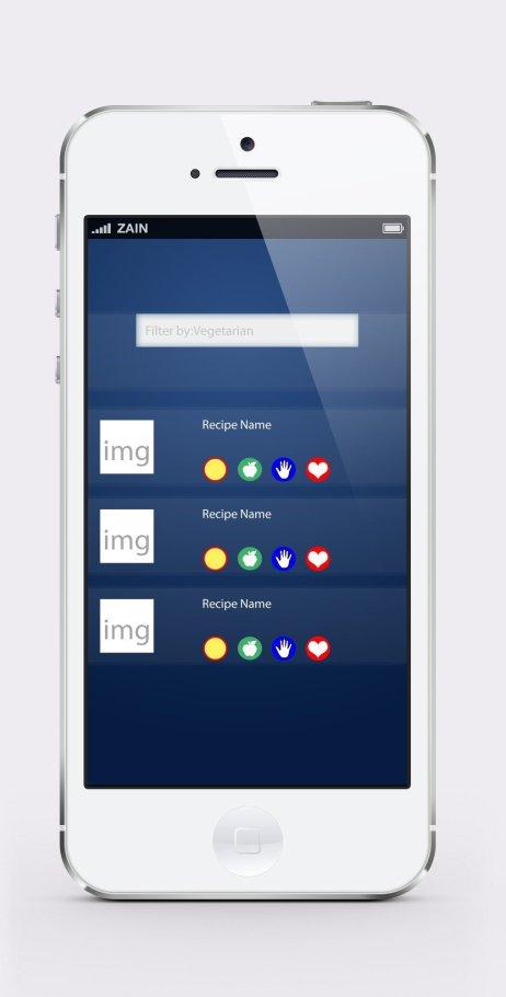 transformme app nutrition plan details screen