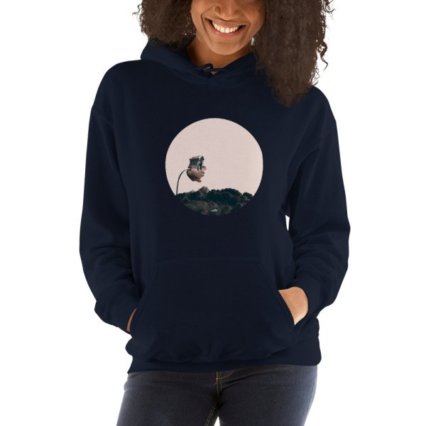 Adoration Road - Hooded Sweatshirt - Navy