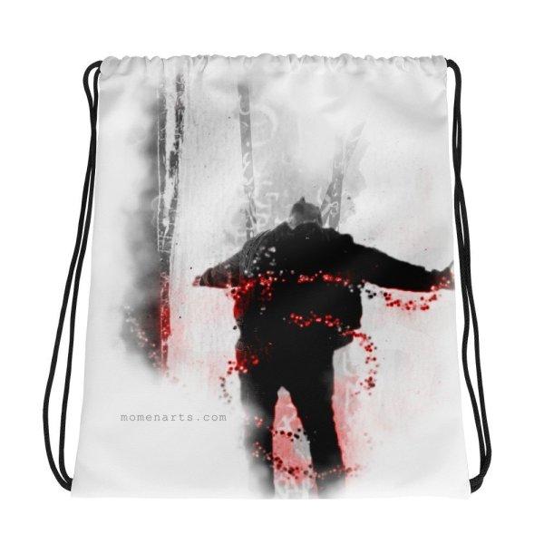 An inspiration moment -Drawstring bag